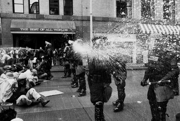 Battle of Seattle and an Iconic photo which changed history