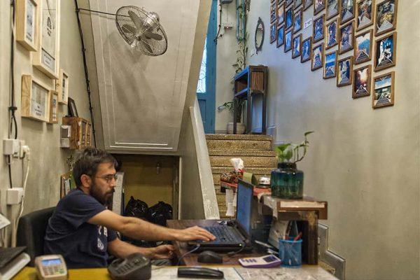 Hostel in Tehran Reception
