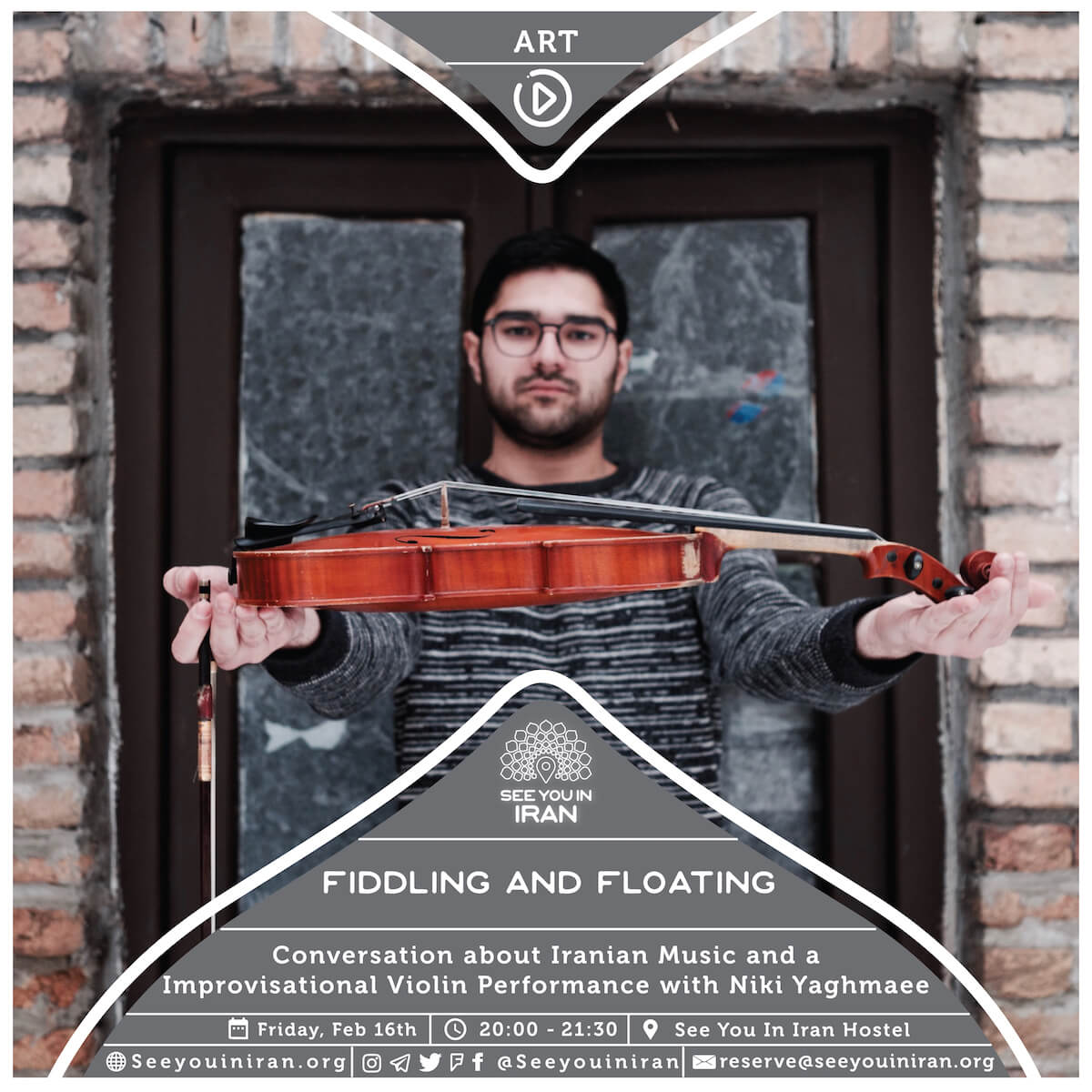 Fiddling and Floating: Conversation about Iranian Music